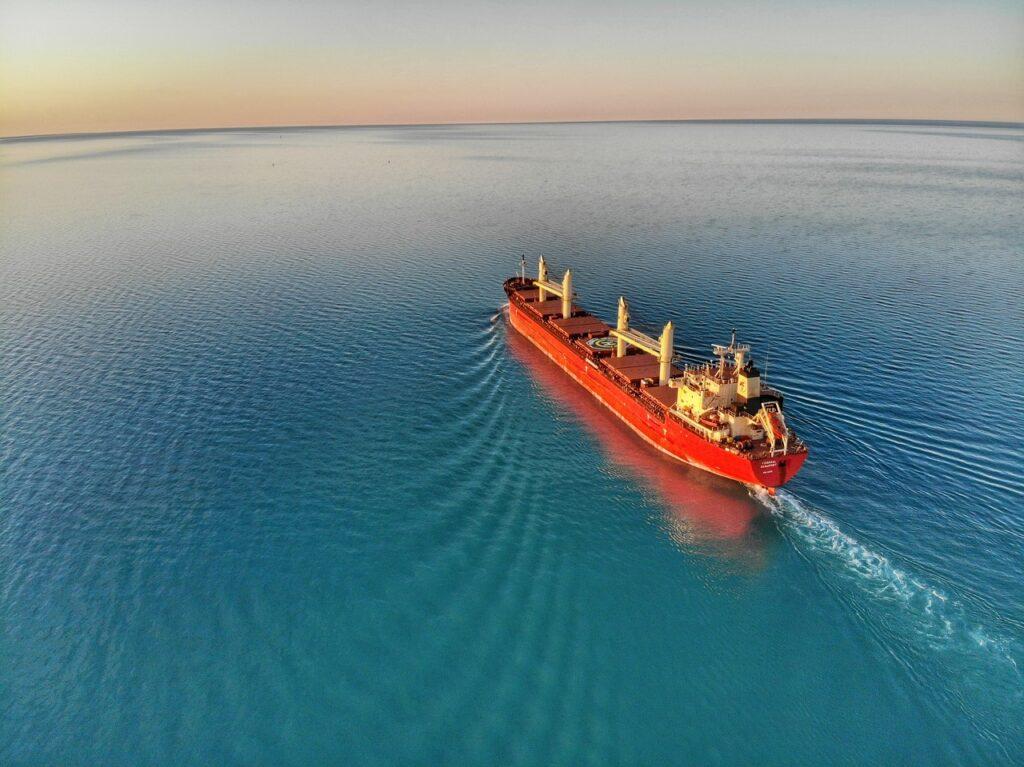buque carga granelero