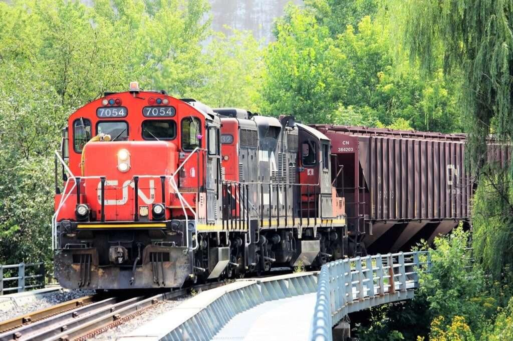 cargamento ferroviario