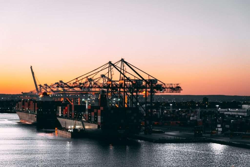 puertos en china