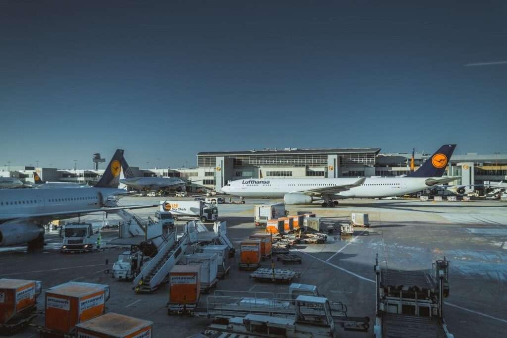 unidades carga transporte aereo